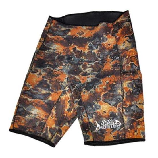 Best Divers Neoprenske maskirne kratke hlače 2,5mm