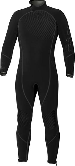 BARE Reactive Full moška obleka brez kapuce 7mm  črna