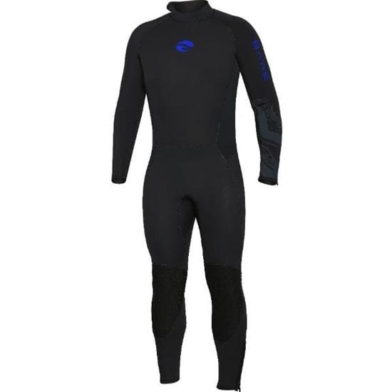 BARE Velocity Ultra moška enodelna obleka 5mm  modra