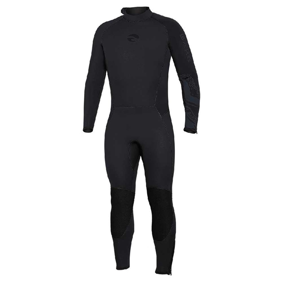 BARE Velocity Ultra moška enodelna obleka 5mm  črna