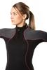 BARE Nixie ultra full ženska enodelna obleka 7mm  siva