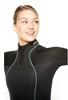 BARE Nixie ultra full ženska enodelna obleka 5mm  črna
