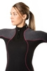 BARE Nixie ultra full ženska enodelna obleka 5mm  siva