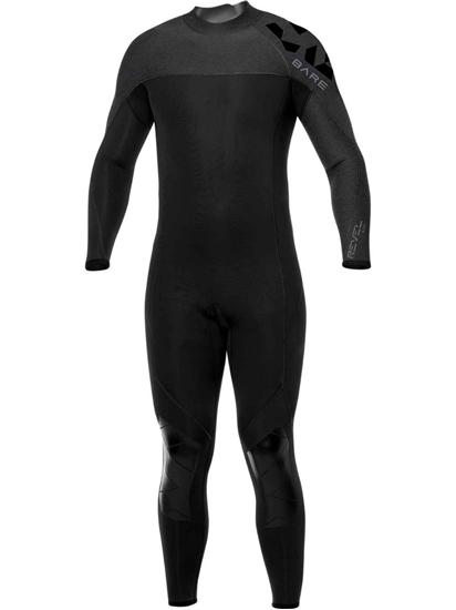BARE Revel moška enodelna obleka 3mm  črna