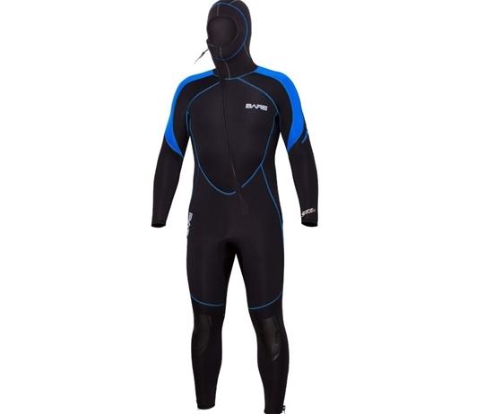 BARE Sport S-flex moška enodelna obleka s kapuco 7mm